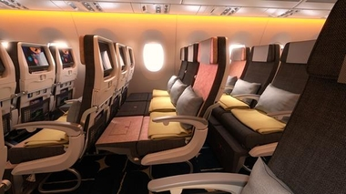 Following Skycouch™, SWS obtain approvals on new 'lie-flat' seats for 3 further airlines...16th February 2017